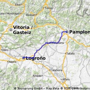 Pamplona-Rjoa-Logrono 2