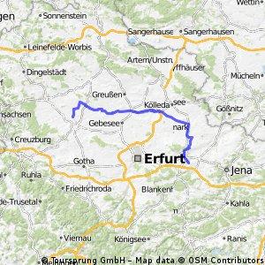 Thamsbrück - Ehringsdorf