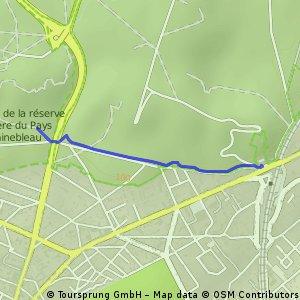 Gorges de Franchard