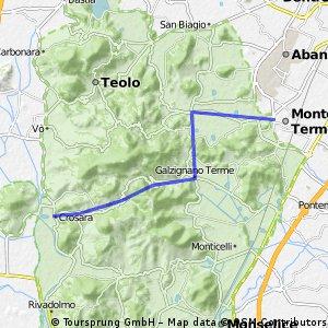 Eugan.Hügel Crosara-Montegr.