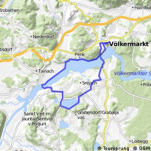 Rund um Völkermarkter- + Klopeiner See