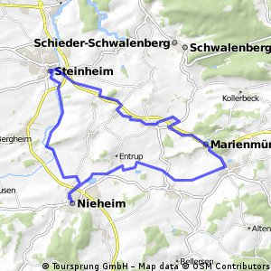 3 Städte-Tour (Nieheim-Steinheim-Marienmünster)