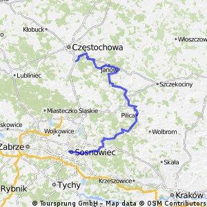 Korwinów - Sosnowiec przez Jurę 20150920