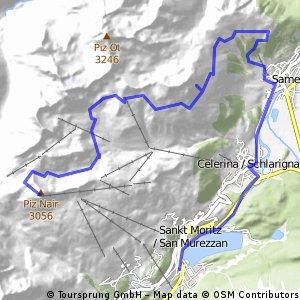 Piz Nair - Trais Fluors - Samedan - St. Moritz