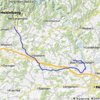 Bammental - Waldschenke - Bad Rappenau