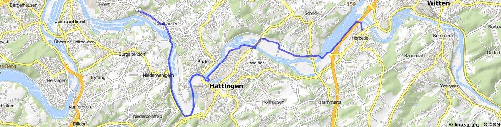 Bochum Dahlhausen - Witten Herbede