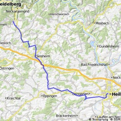 Bammental - Heuchelberg - Heilbronn