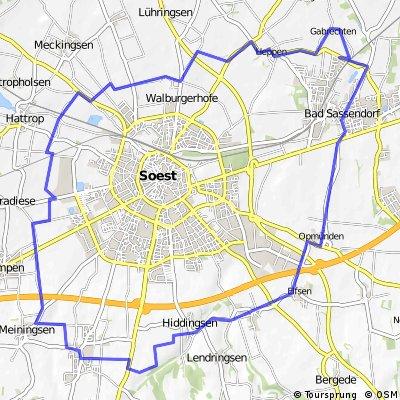 31km-Rund um Soest