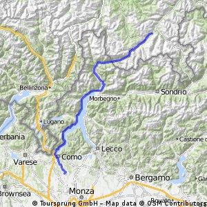 Como - Saint Moritz