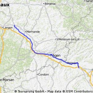 Canal lateral del Garona