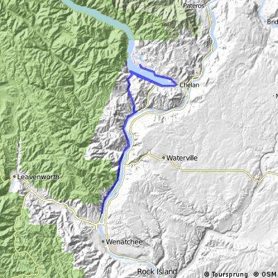 Manson to Wenatchee