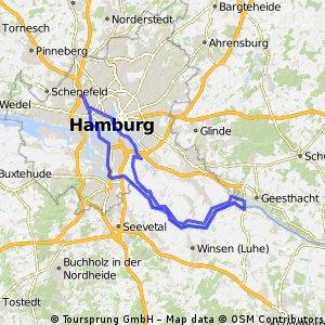 2015-06-28 - Moorfleet Geesthacht Wilhelmsburg Alter Elbtunnel