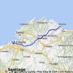 Coruña - Foz