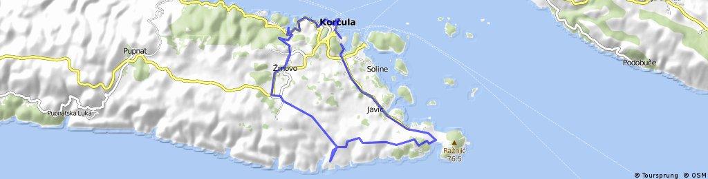 Korčula-Lumbarda-Žrnovo-Korčula