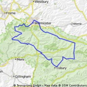 warminster wylye vally and deverils loop
