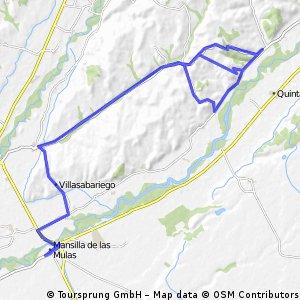 Ruta de Villasabariego-Rueda-Monasterio