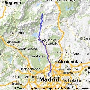 Madrid - Canencia