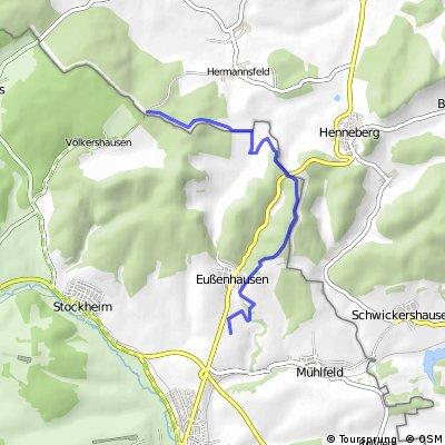 Bayer/Thür-Grenze Völkershausen > Eußenhausen