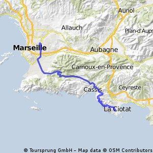 Marseille - La Ciotat
