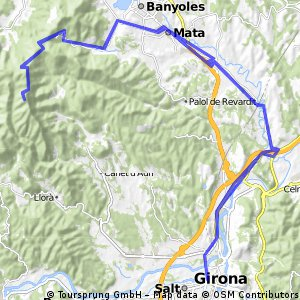 Girona-Rocacorba-Girona