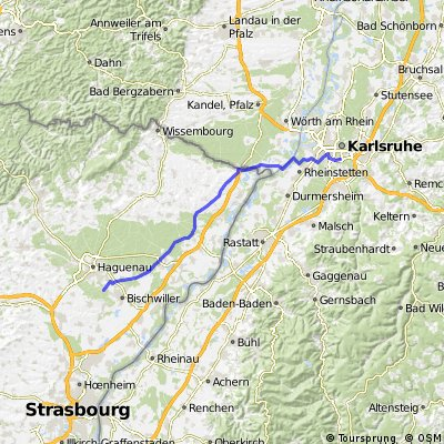 Karlsruhe-Neuburg-Niederroedern-Marienthal