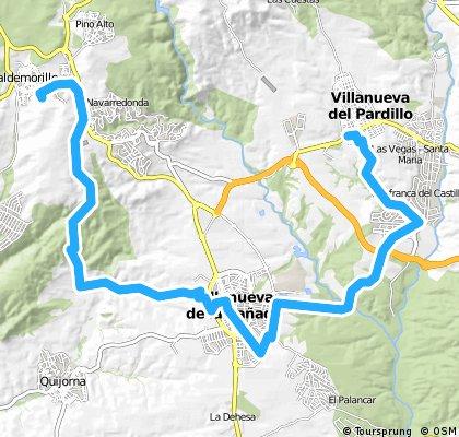Valdemorillo - Villanueva de la cañada - Villanueva del Pardillo