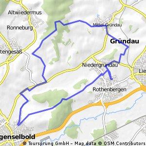 Rothenbergen Langenselbold Mittel-Gründau loop