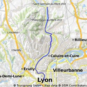 Convergence à vélo Neuville-Lyon Alternatiba 11/10/2015
