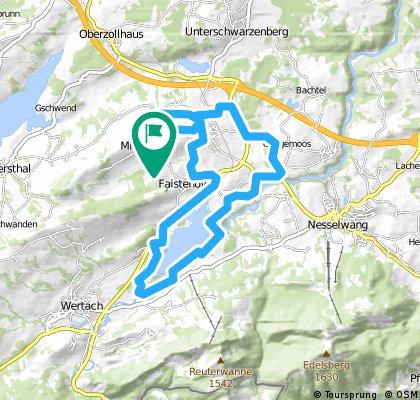 Oy Mittelberg - Grüntenseetour, Allgäu (Deutschland)