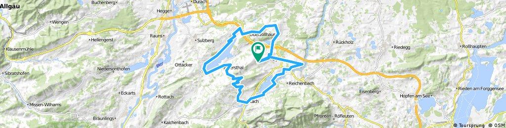 Oy Mittelberg - Panoramatour, Allgäu (Deutschland)
