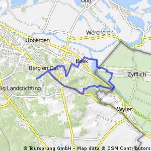 Berg en Dal, Duivelsberg, Wylermeer
