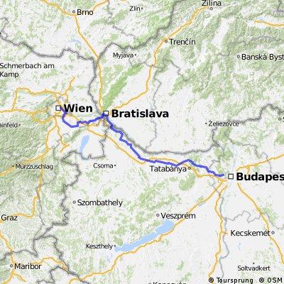 Bécs-Pozsony-Budapest Ultramaraton