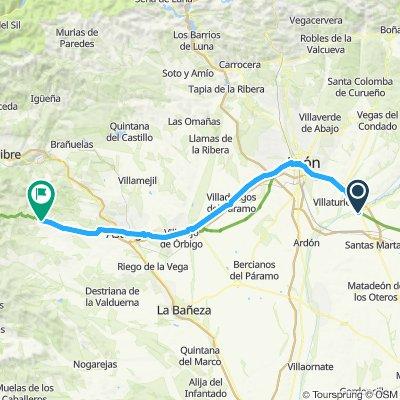 2011 Santiago: 6. dan (Mansilla - Rabanal del Camino)