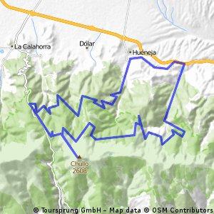 Huéneja - Puerto de la Ragua - Chullo - Ubeire - Huéneja