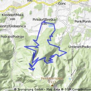 Breško jezero/Pirkdorfer see - Veški stan/Wackendorfer alm