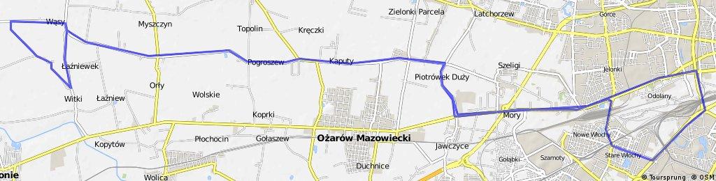 Trening z Rafałem Majką 17.10.2015