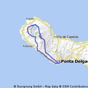 Ponta Delgada - Sete Cidades Crater - Ponta Delgada