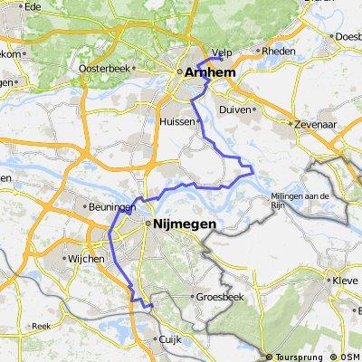 Molenhoek Velp via RijnWaalPad
