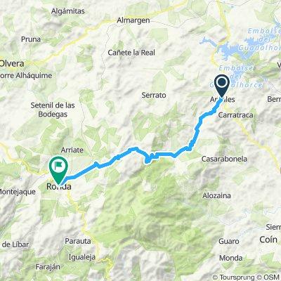 Andalusien Tag 02: Ardales - Ronda