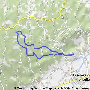 8km sul montello