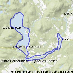 Boucle Lac- St-Joseph par Shannon