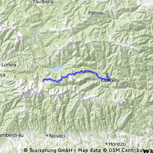 Creasta Latoriţei : Şaua Ştefanu - Valea Măceşului