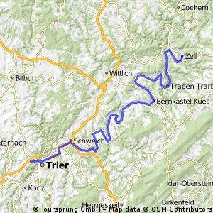 Moselradtour Trier - Koblenz Teil1