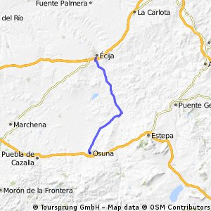 Andalusien Tag 06: Osuna - Ecija
