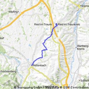 Ried im Traunkreis - Pettenbach (Ortszentren, Umgehung von Hauptverkehrsstraßen)