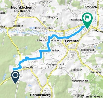 Felsenkeller-Kalchreuth -> Frohnhof