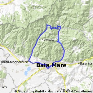 Baia Mare-Blidari-Baita-Baia Mare