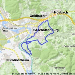 Obernau-Goldbach-Haibach-Schweinheim-Obernau