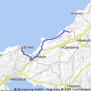 Rayle to St Ives