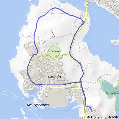 Tananger Ring - 10,5 km